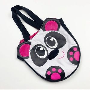 Other - Little Girls Panda Purse Black and Pink